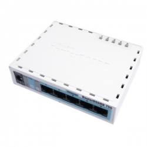 MIKROTIK RouterBOARD RB750 (Level 4, 32MB RAM, 5xLAN)
