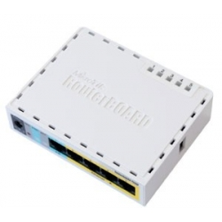 MIKROTIK RouterBOARD RB750UP+Level 4 (32MB RAM,PoE output ports)