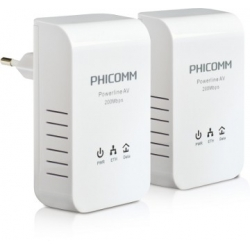 200Mbps Powerline Network Adapter Kit