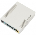 MIKROTIK RouterBOARD RB951Ui-2HND 5x ethernet + 1W WiFi, 850mA PoE output on port 5