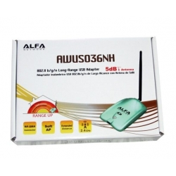 ALFA AWUS036NH (RT3070) 802.11b/g/n USB WLAN adapter